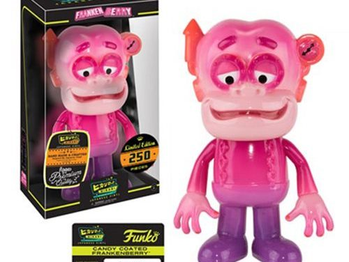 Preview of the new Frankenberry Candy Coated Hikari Vinyl Figure by Funko!