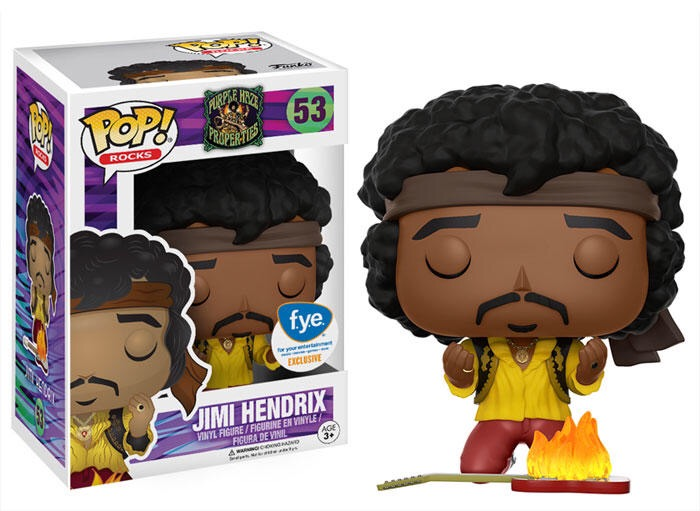 New FYE Exclusive Jimi Hendrix Pop! Vinyl now available for pre-order!
