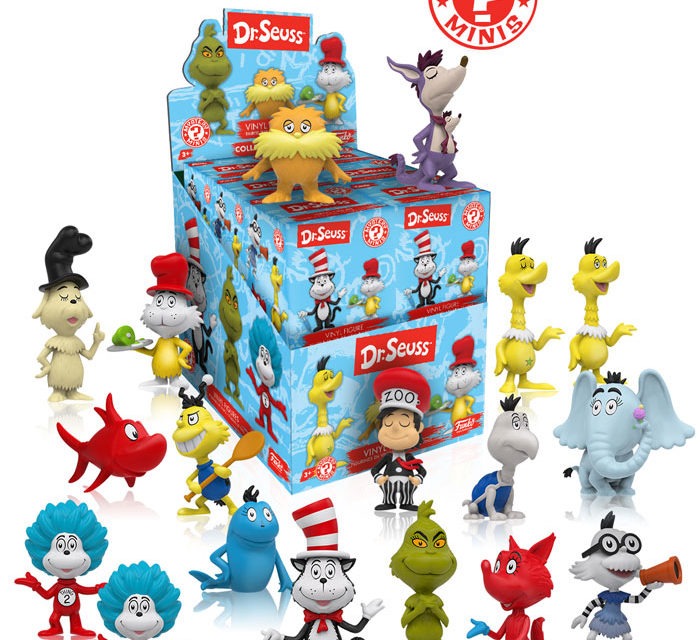 New Dr. Seuss Mystery Minis to be Released this Summer!