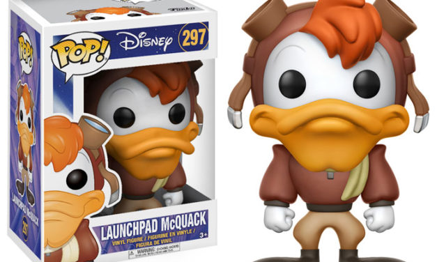 Previews of the new Darkwing Duck Pop! Vinyl Collection!