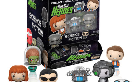 New Science Fiction Pint Size Heroes Coming Soon!