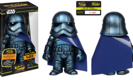 New Funko-Shop Exclusive Blue Steel Captain Phasma Hikari Now Available!