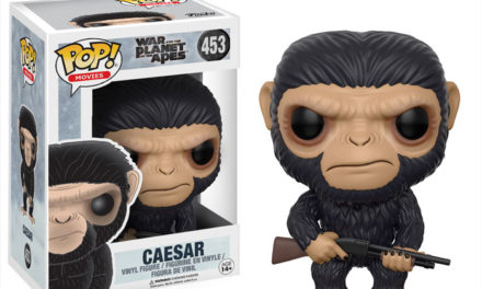 New War for the Planet of the Apes Caesar and Maurice Pop! Vinyls to be released this Spring!