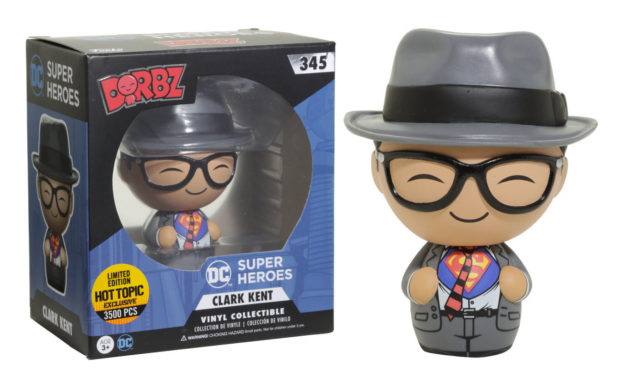 New Hot Topic Exclusive Clark Kent Dorbz Now Available Online!