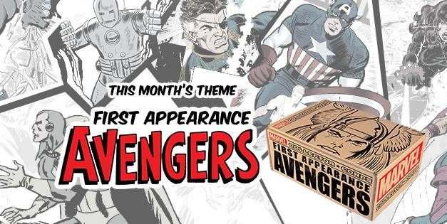 Pop! Vinyl from the Collectors Corp: First Appearance Avengers Box Revealed!