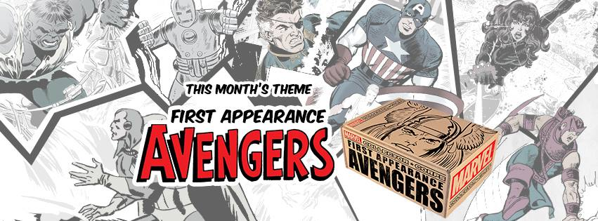 First Appearance Avengers Theme Announced for the August Collectors Corp Box