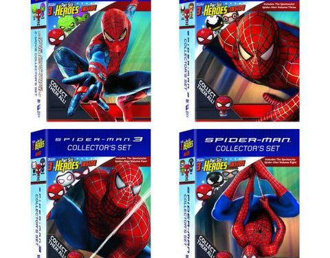 Walmart Exclusive Spider-Man + Pint Size Heroes DVD Sets Now Available!