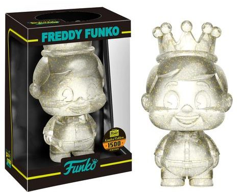 New Funko Shop Exclusive Gold Glitter Freddy Funko Mini Hikari Released!