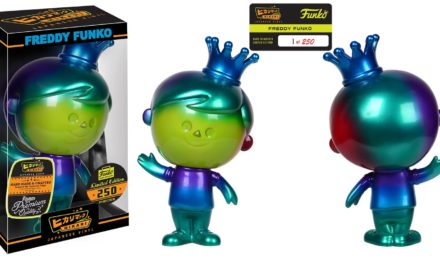New Funko Shop Exclusive Color Spectrum Freddy Funko Hikari Now Available!