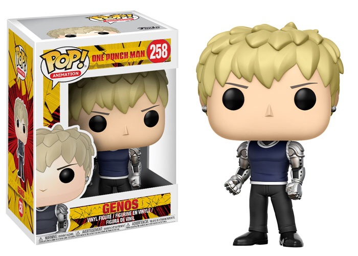 New Pop: Anime One-Punch Man Pop! Vinyls and Pocket Pop! Keychains Coming Soon!