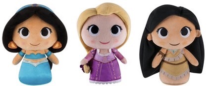 New Jasmine, Rapunzel, and Pocahontas SuperCute Plushies by Funko Coming Soon!