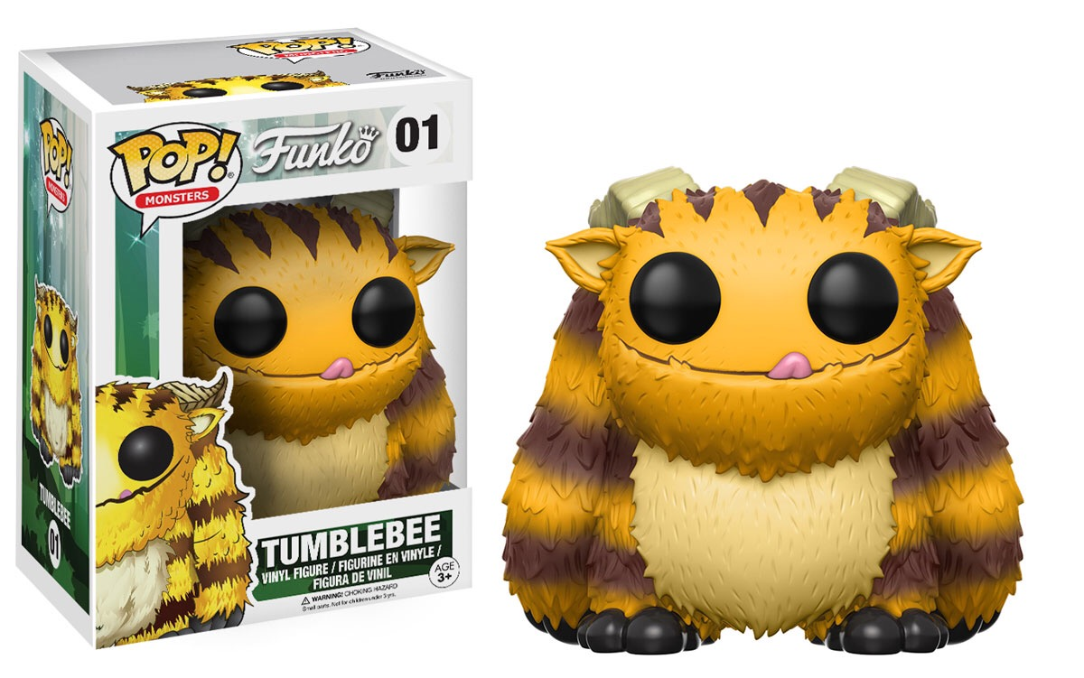 New Funko Monsters Tumblebee Pop Vinyl Released Pop
