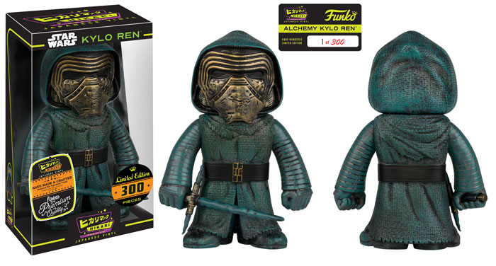 New Star Wars: TFA Kylo Ren Alchemy Hikari Figure Now Available Online!