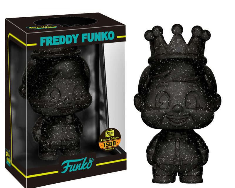 New Funko Shop Exclusive Black Glitter Freddy Funko Mini Hikari Released!