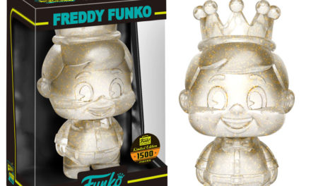 New Funko Shop Exclusive Copper Glitter Freddy Funko Mini Hikari Released!