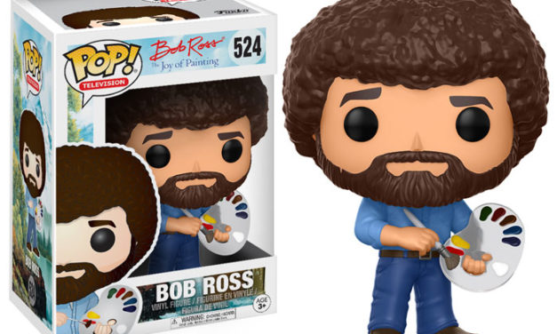 New Joy of Painting Bob Ross Pop! Vinyl to be released in August!