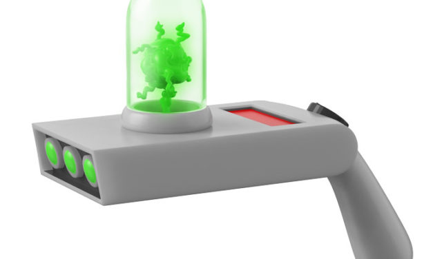 Previews of the new Rick and Morty Portal Gun by Funko!