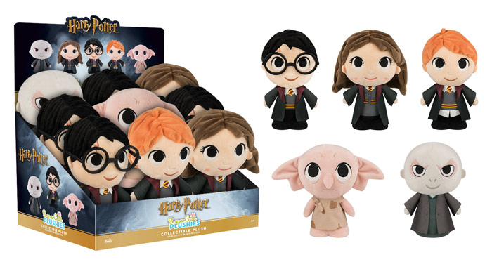 New SuperCute Harry Potter Plushies Coming Soon!