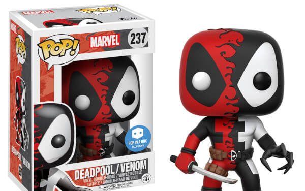 New Pop In A Box Exclusive Venom Deadpool Pop! Vinyl Now Available for Pre-order!