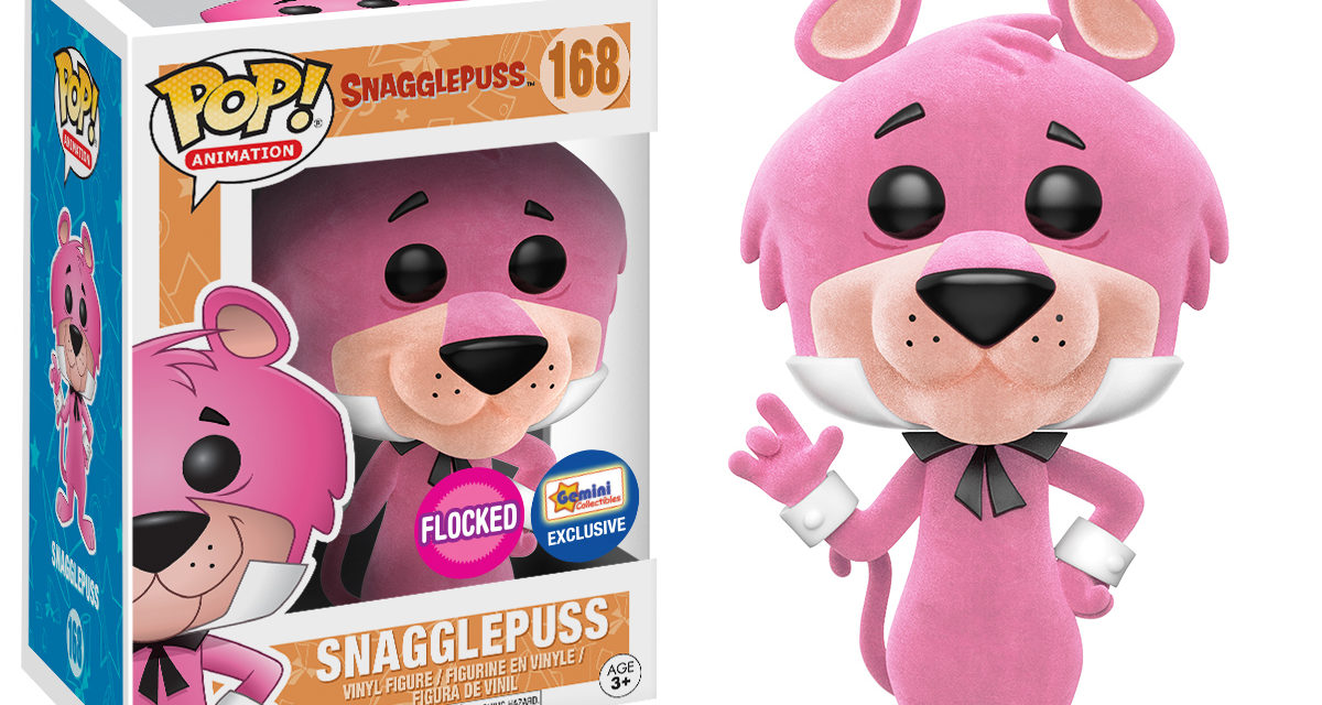 Preview of the Gemini Collectibles Exclusive Flocked Snaggelpuss Pop! Vinyl!