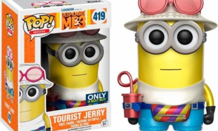 Best Buy Exclusive Metallic Tourist Jerry Pop! Vinyl Now Available for Pre-order!