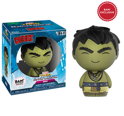 New Books-a-Million Exclusive Thor: Ragnarok Hulk Dorbz Now Available Online!