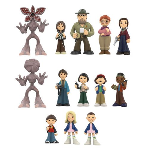 Previews of the new Stranger Things Mystery Minis and Retail Exclusives!