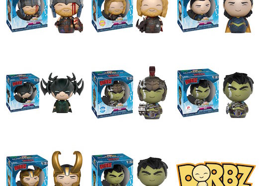 New Thor: Regnarok Dorbz by Funko Coming Soon!