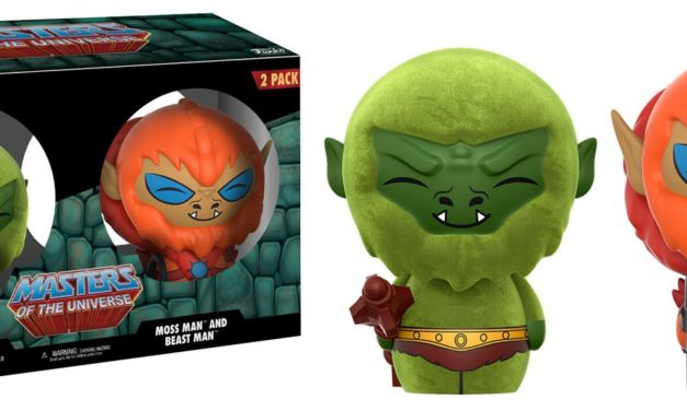 New Funko Shop Exclusive Masters of the Universe Beast Man and Moss Man Dorbz Set Released!