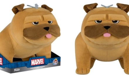 New 5″ Inhumans Lockjaw Plushie and TRU Exclusive 12″ Lockjaw Coming Soon!
