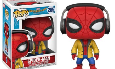 New Spider-Man with jacket and headphones Pop! Vinyl Coming Soon!