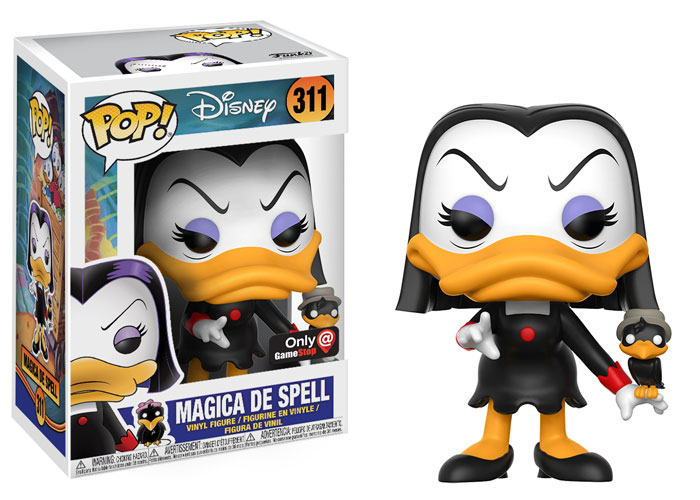 Official Preview of the GameStop Exclusive DuckTales Magica de Spell Pop! Vinyl Released