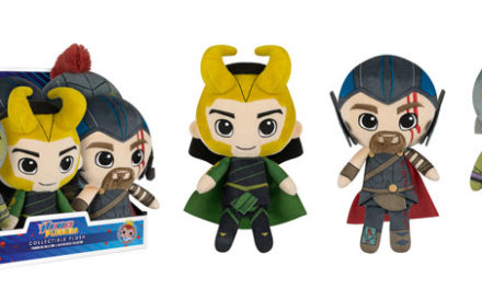 New Thor: Ragnarok Hero Supercute Plushies Coming Soon!