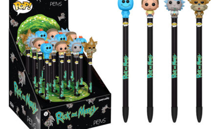 New Rick & Morty Pop! Pen Toppers Coming Soon!