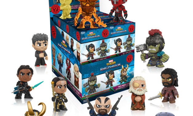 New Thor: Ragnarok Mystery Minis to be released in August!