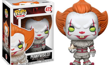 "Previews of the upcoming ""It"" Pennywise Pop! Vinyl, Chase and Exclusives!"