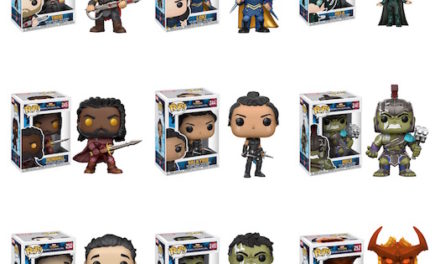Official Previews of the upcoming Thor: Ragnarok Pop! Vinyls and Pocket Pop! Keychains Released!