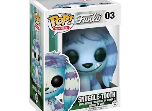 New Funko Monsters Snuggle-Tooth Pop! Vinyl Released!