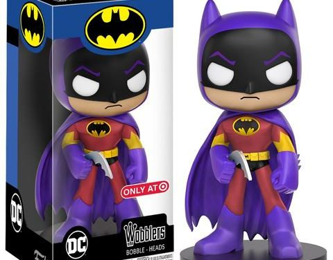 Preview of the new Target Exclusive Iron Man, Batman and Batgirl Wacky Wobblers released!