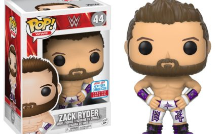 Preview of the upcoming New York Comic Con Exclusive Zack Ryder Pop! Vinyl!