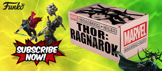 Thor: Ragnarok Theme Announced for the October Collectors Corp Box
