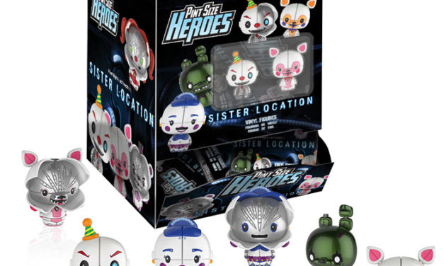New Five Nights at Freddy's Sister Location Pint Size Heroes Coming Soon!