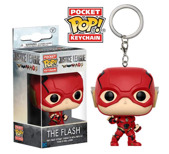 Previews of the new Justice Leagure Pocket Pop! Keychains!