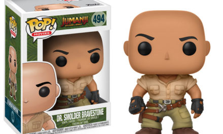New Jumanji: Welcome To The Jungle Pop! Vinyls to be released the Fall!
