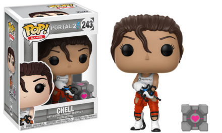Previews of the upcoming Portal 2 Pop! Vinyl Collection!
