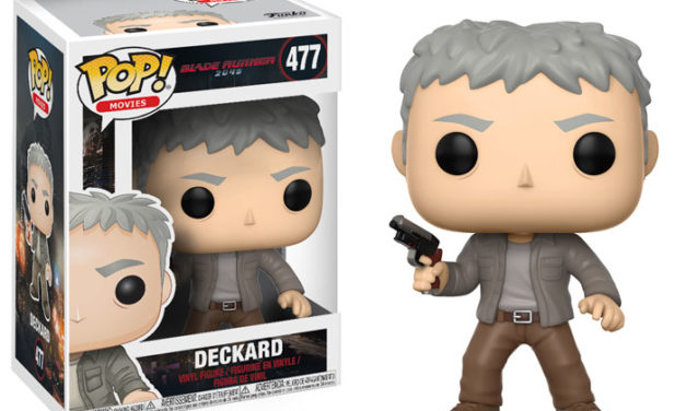 Previews of the upcoming Blade Runner 2049 Pop! Vinyls Released!