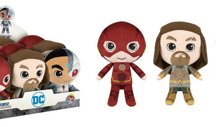 New Justice League Hero Plushies Coming Soon!