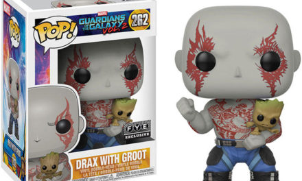 New FYE Exclusive Guardians of the Galaxy 2 Drax with Groot Pop! Vinyl now available for pre-order!