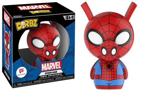 Previews of the new Walgreens Exclusive Spider-Ham and Ant-Man Dorbz