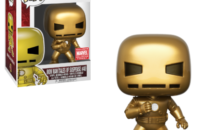 New Marvel Collector Corps Subscribers Exclusive Gold Iron Man Now Available!
